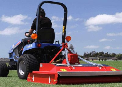 Designed with compact tractors in mind - as low as 25hp