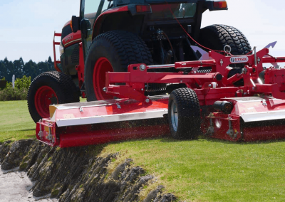 Rollers eliminate scalping - even on bunkers