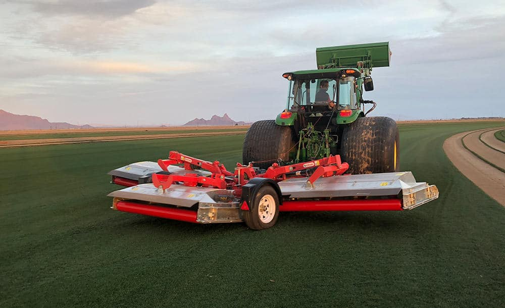 How Trimax's New Pegasus QuikLift Feature Saves Both Turf and Equipment